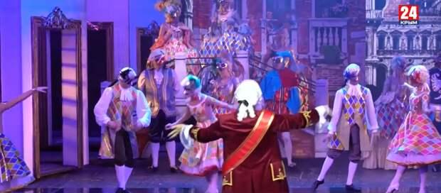 В Крыму состоялась премьера мюзикла  «Голубая камея»