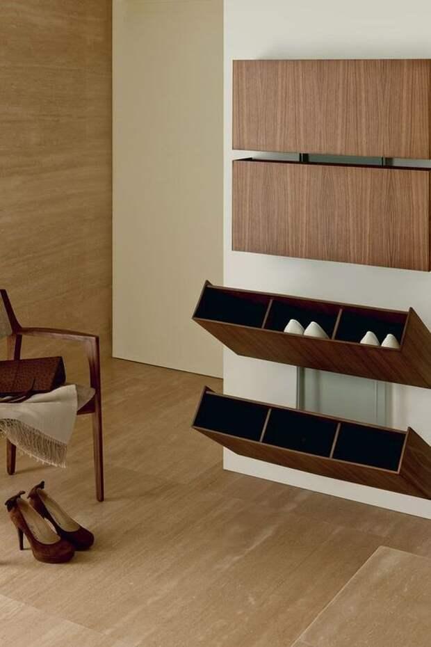 Идеи хранения обуви на любой бюджет: удачные примеры организации пространства
