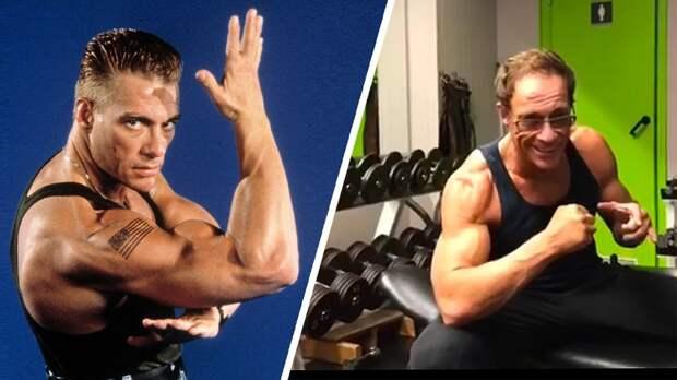 Ван Дамм стал звездой Ютуба не как актер, а как фитнес-тренер. Ему под 60, и у него свои крутые тренировки