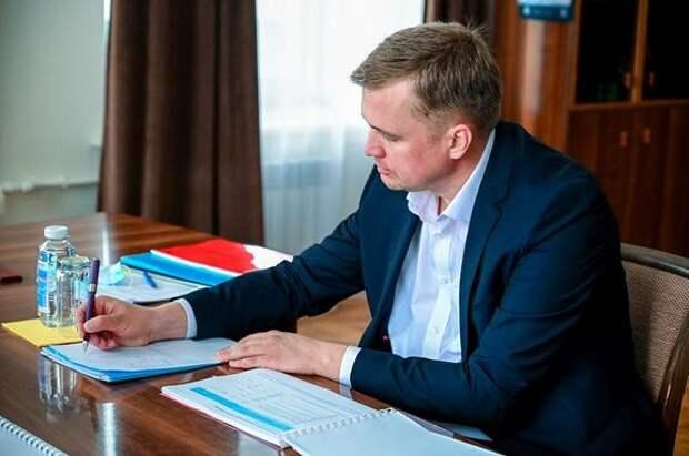 Мэра Троицка, ожидающего суда, отстранили от работы