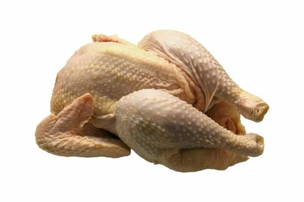 В Малой Пурге сожгли просроченное мясо цыпленка