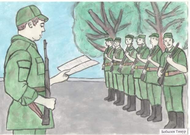 Сын олигарха пошёл служить в армию