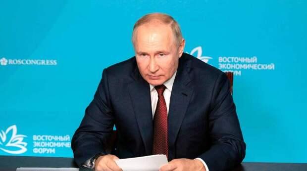 Путин обвинил Евросоюз в дискриминации крымчан