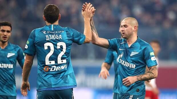Дзюба оценил спорные эпизоды матча «Зенит»— «Спартак»: видео