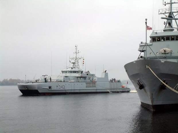 В Балтийском море начались военно-морские учения НАТО Baltop с участием 16 стран