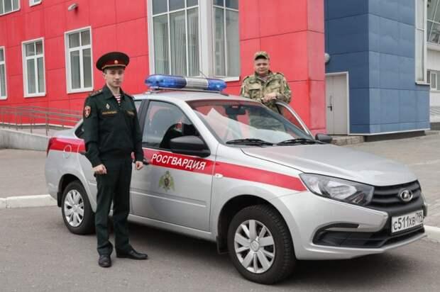 Росгвардейцы удержали жительницу Лефортова от необдуманного поступка
