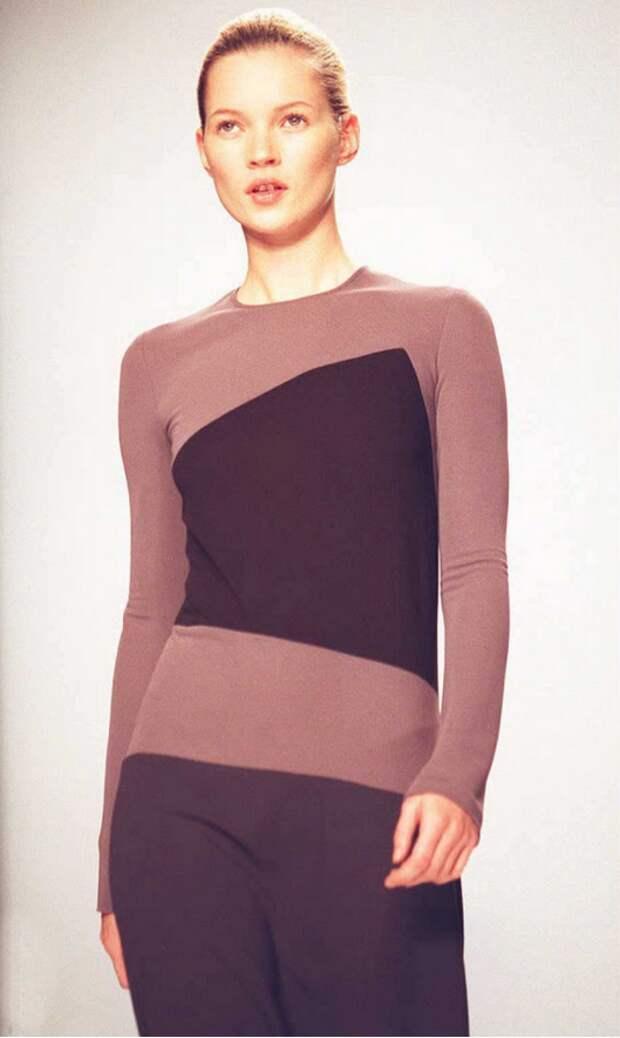 Журналы мод продолжали пропагандировать худое тело, дойдя в 1990-х до экстрима в случае с Кейт Мосс