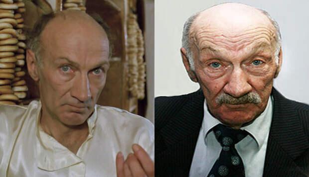 Влвдимир Головин, слева в образе Мика Нича