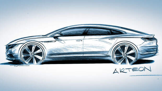 Весенняя загадка: Volkswagen анонсировал фастбек Arteon