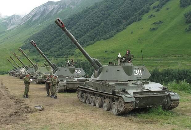 Россия больше не шутит. На границе с Украиной размещены мощные российские артиллерийские комплексы
