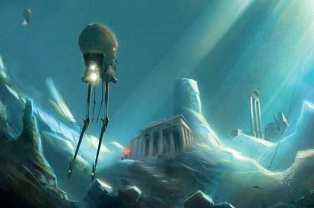 Древняя цивилизация, обитавшая под водой
