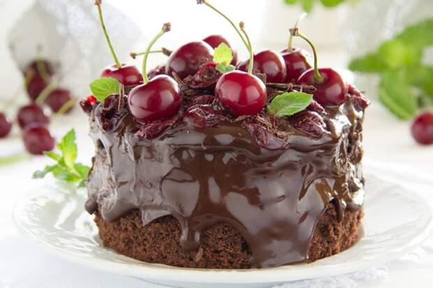 Шикарные десерты с вишней