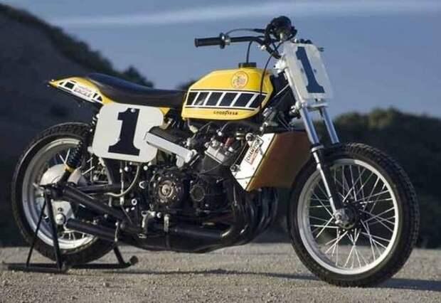 Флет трекер Yamaha TZ750