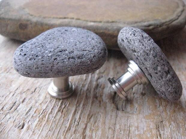 Каменные мебельные ручки