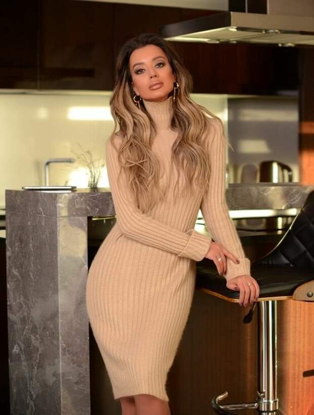 6 зимних платьев, которые выбирают женщины, чтобы подчеркнуть свою привлекательность