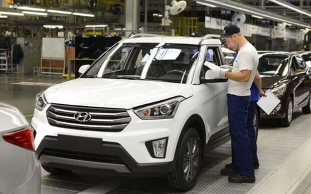 Пошел в массы: в России стартовало производство кроссоверов Hyundai Creta