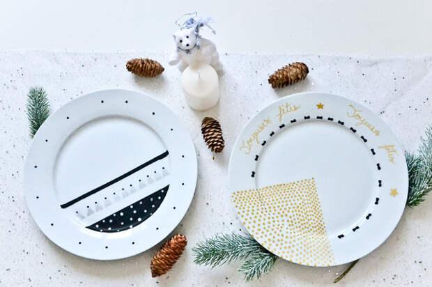 DIY: Как украсить тарелку без лишних затрат