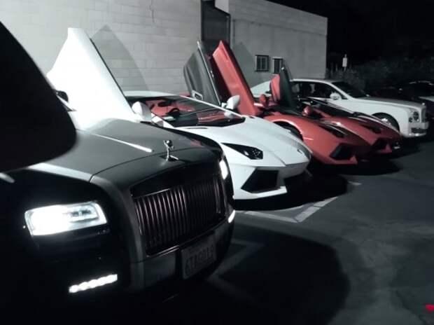 «Золотая молодежь» хвастается своими Lamborghini, Bentley и Maserati