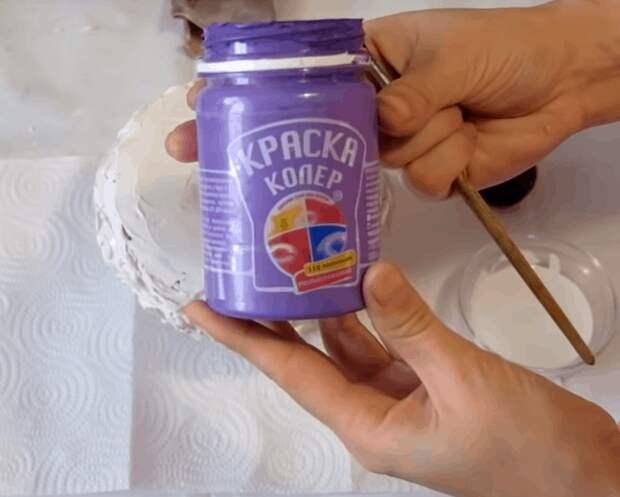 Преобразуем пустую жестянку в чудесную вазу