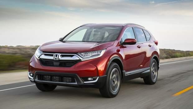 Honda CR-V стала самым покупаемым кроссовером в США в мае