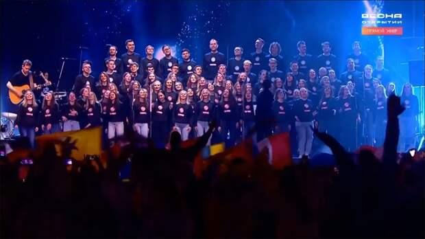 Видео дня: Нижегородский хор спел с группой Therr Maitz