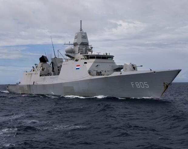 Российские истребители напугали нидерландских моряков в Чёрном море