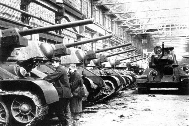Регулировка механизмов танков на УТЗ №183. 1942 г.