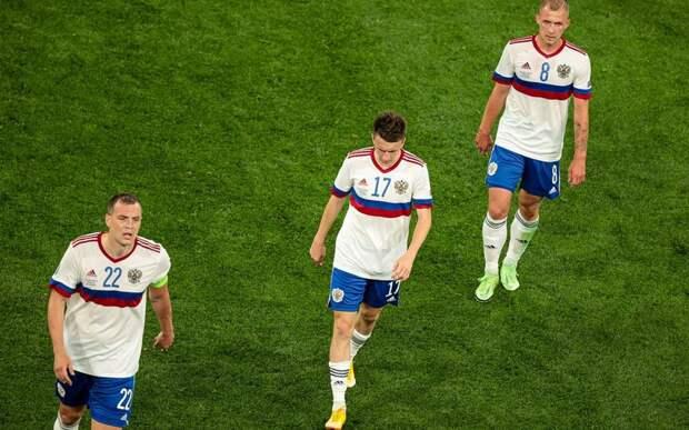 Сборная России по футболу проиграла первый матч на «Евро-2020»