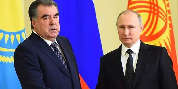 Песков рассказал о предстоящей встрече Путина и Рахмона