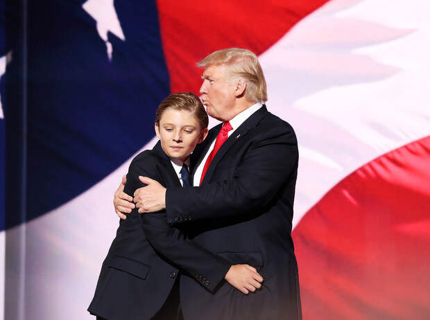 Бэррон Трамп иеще 6 детей президентов США, которым досталось отСМИ