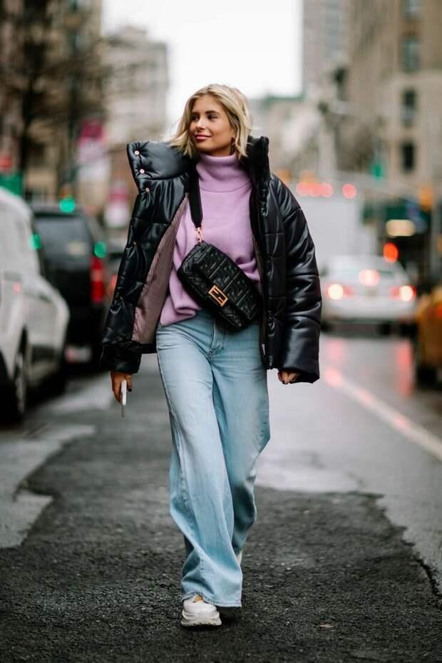Широкие брюки на осень, как и с чем носить