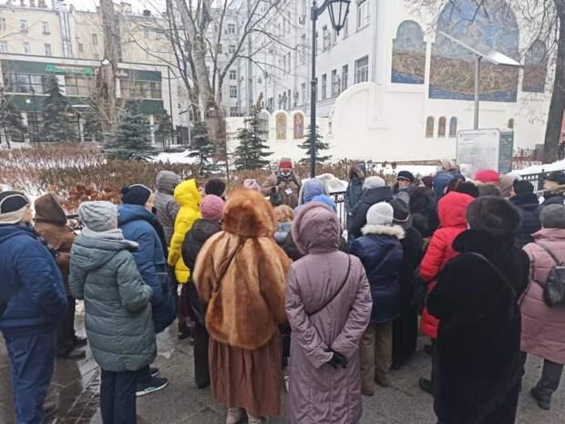Подопечные ТЦСО «Беговой» филиала «Сокол» посетили экскурсию по дворянскому предместью Москвы