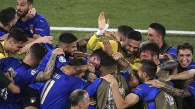 Италия первой вышла вплей-офф Евро-2020