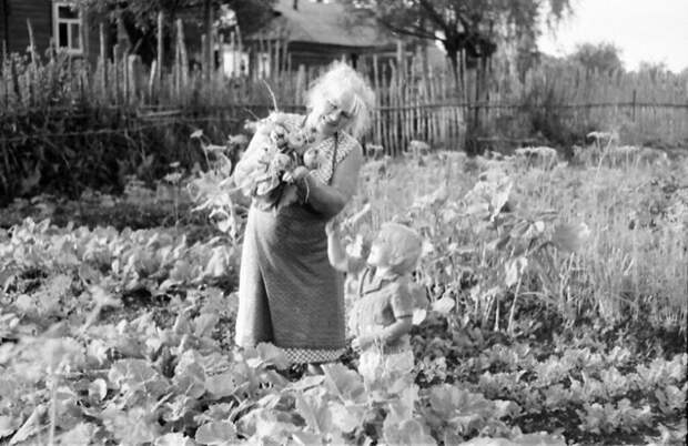 Ностальгические фото из жизни одной деревни