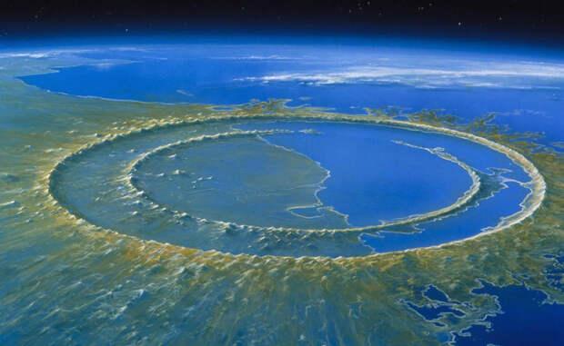 Космическое вторжение: гигантские кратеры на теле Земли