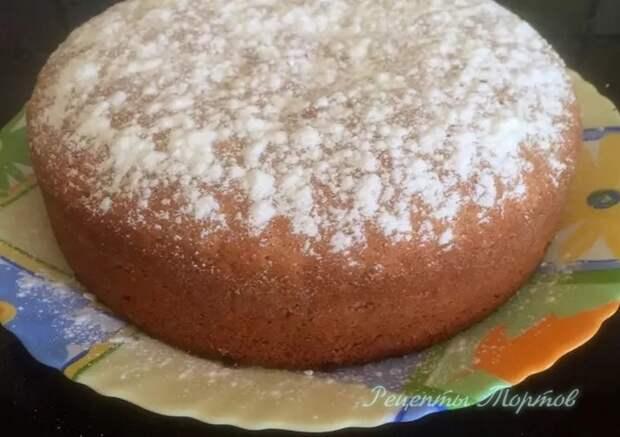 БИCКВИТНЫЙ МОРКОВНЫЙ пирог