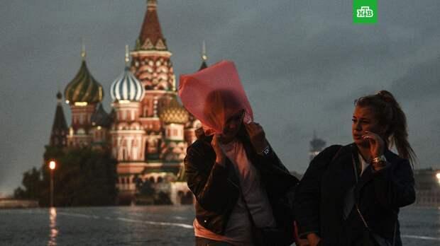Ливни с грозами в Москве будут идти 5 дней
