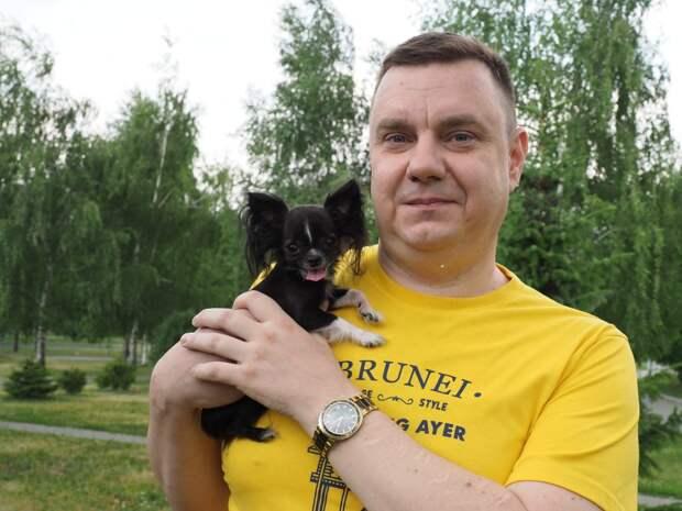 Самая маленькая собачка России живёт в Люблине