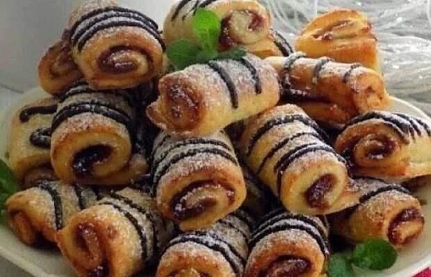 Обалденное творожное печенье