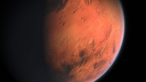 Марсианский зонд ОАЭ показал водородную корону Марса