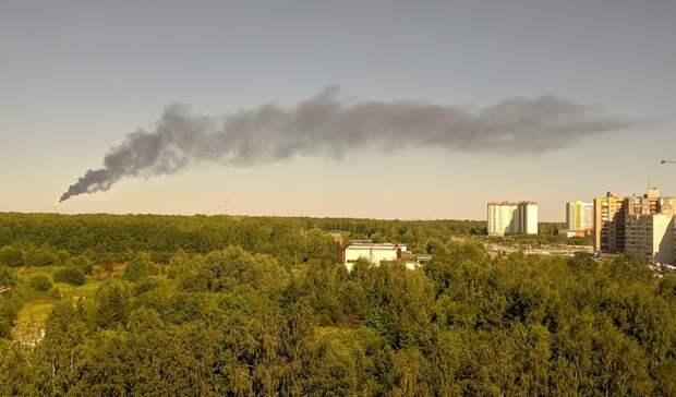 СИБУР прокомментировал горение факела и задымление в Тобольске