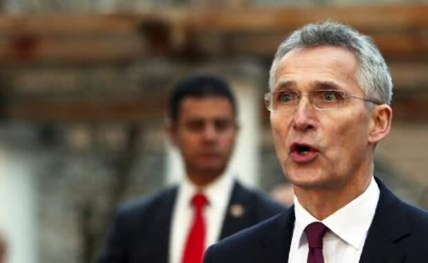 На фото: генеральный секретарь НАТО Йенс Столтенберг