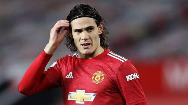 Кавани надеется продлить контракт с «Манчестер Юнайтед»