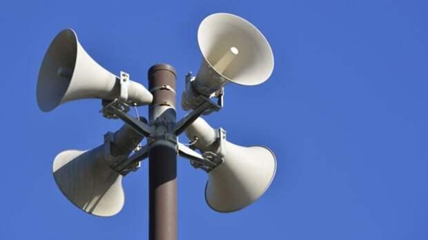 Систему оповещения населения проверят в Тверской области