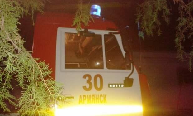 Вслед за Ижевском: в одном из домов Армянска взорвался газ (фото)