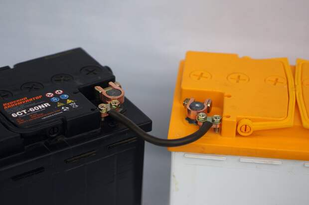 «Русская сварка»: как правильно соединять аккумуляторы для сварочных работ в поле