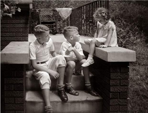 Дети до эпохи тирании гаджетов
