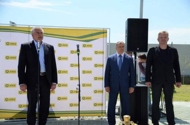 Торжественное открытие автозаправочного комплекса ATAN  на трассе «Таврида»