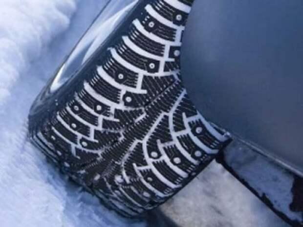 Шипованные шины в помощь новичку