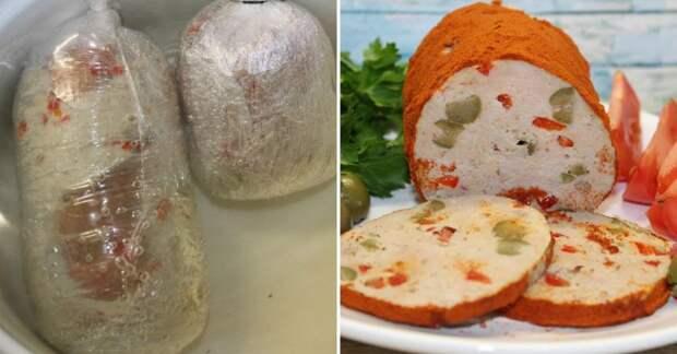 Домашняя колбаса мортаделла